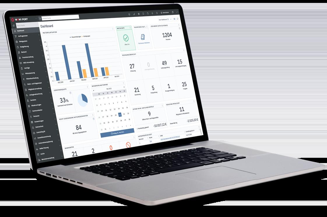 Look and Feel eines modernen webbasierten ERP-Systems